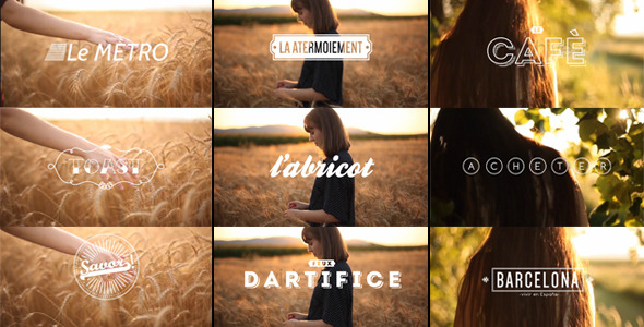 70 S Vintage Film Titles Retro After Effects Templates F5