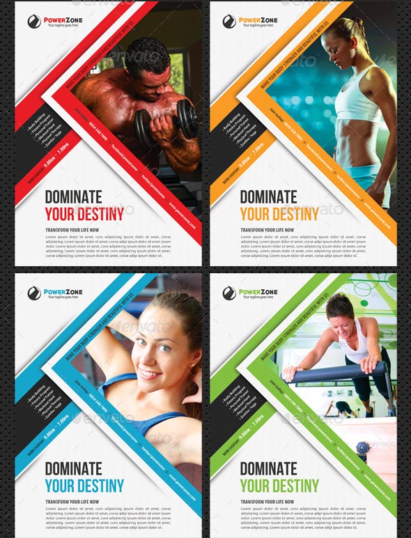 44 Beautiful Sport Flyers PSD Templates – Desiznworld