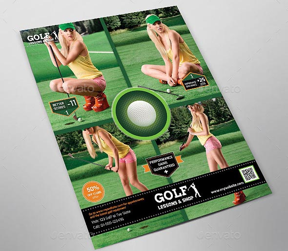 Sports Flyer Golf Lessons
