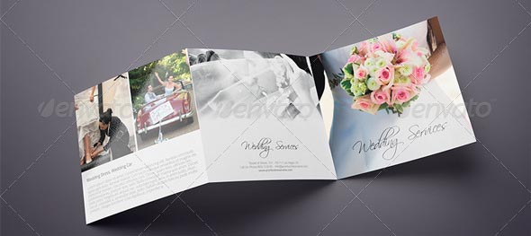 20+ Beautiful Wedding Brochure Templates – Desiznworld