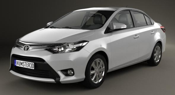 Toyota Yaris sedan 2014