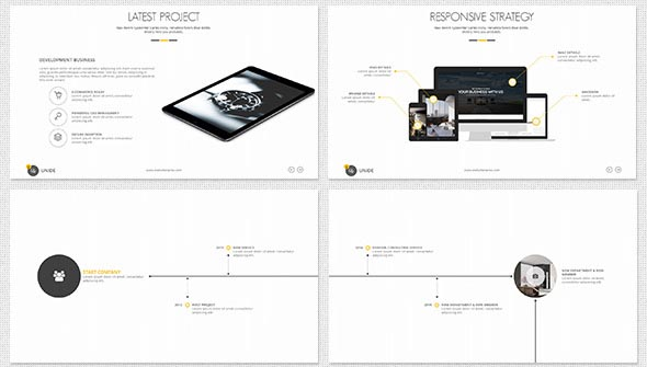 UNIDE -Powerpoint Presentation Template