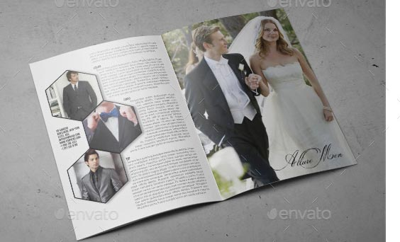 Wedding A4 InDesign Catalog Template