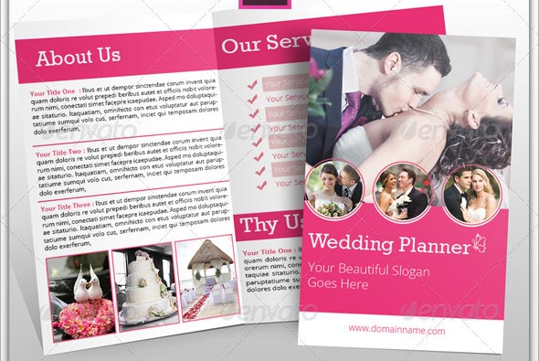Beautiful Wedding Brochure Templates  Desiznworld
