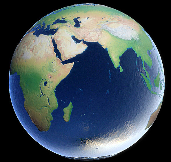 Animation Of The Earth