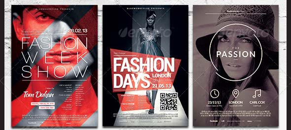 Fashion Flyer Poster Bundle