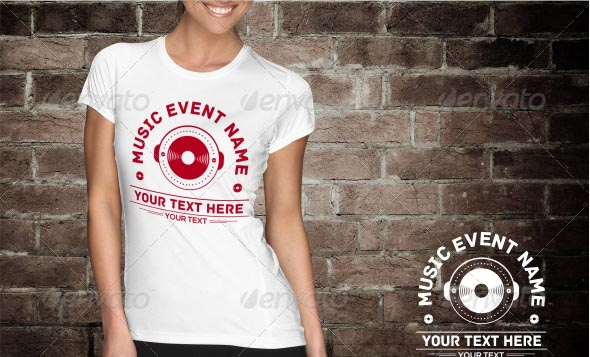 Music Event T-Shirt