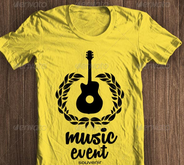 Music Event Tshirt