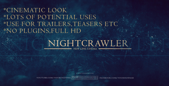 Nightcrawler After Effects