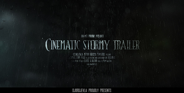 The Cinematic Stormy Trailer
