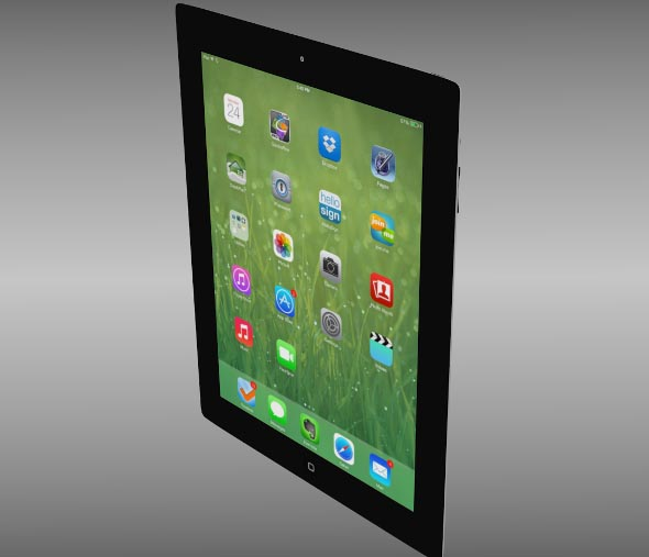 iPad four 4th generation iOS 7