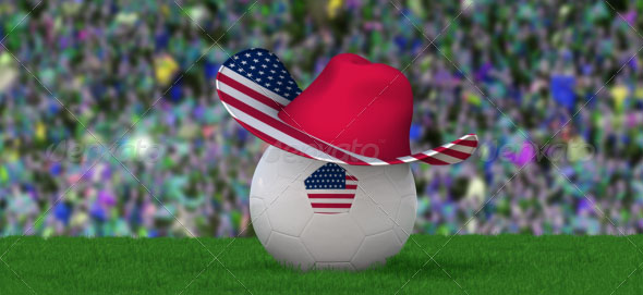 2 Football Fan Hat Mockups