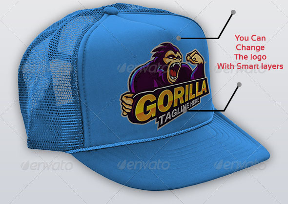 Baseball Hat Mock-up V1