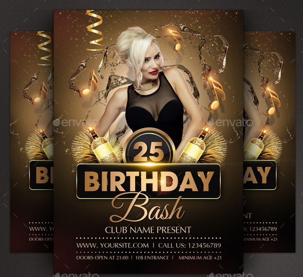 Birthday Party Flyer 01