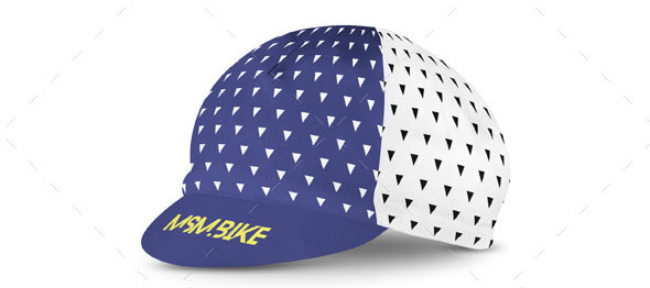 Cycling Cap Mock-up
