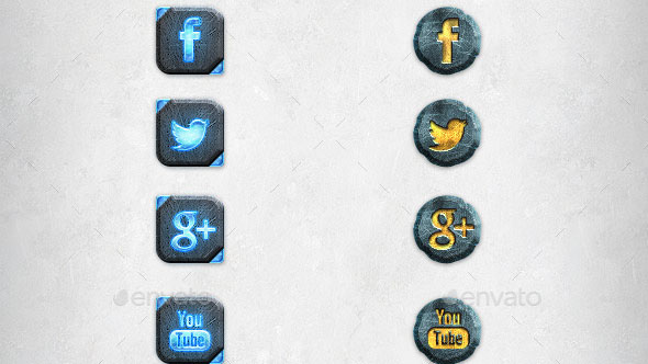 Game Icons Template Vol 2