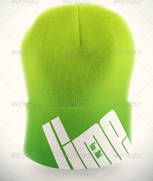 Hip Hop Beanie Mock-up