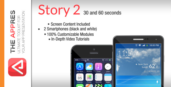 Mobile App Promo Story 2 The Appres