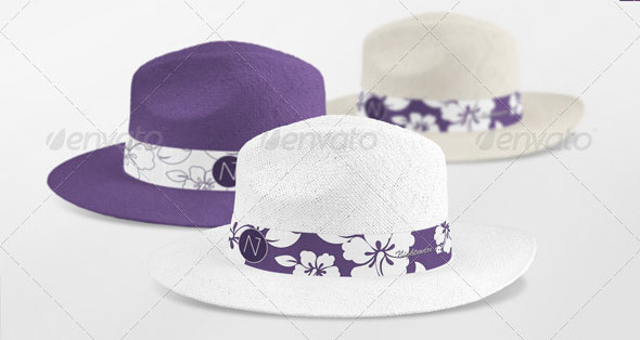 Panama Hat Mock-up