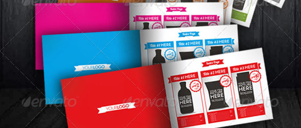 Products Items Catalogue Marketing Brochure