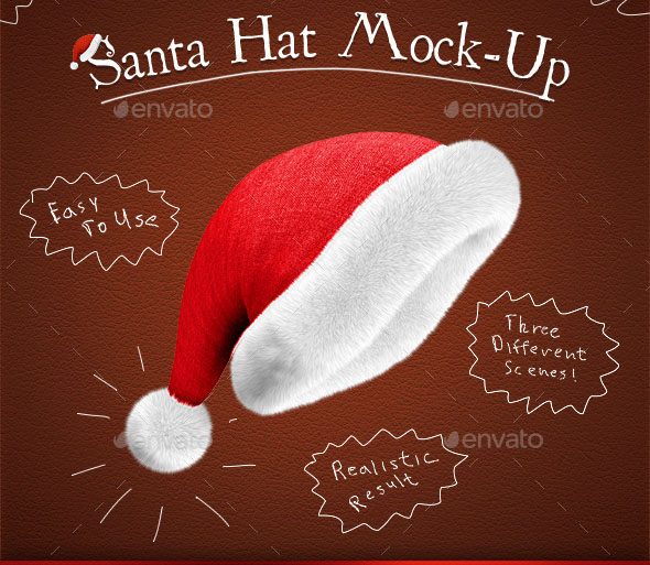 Santa Hat Mock-Up 1