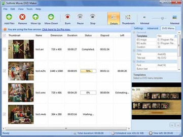 Free Movie DVD Maker