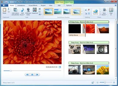 Microsoft's Windows Movie Maker