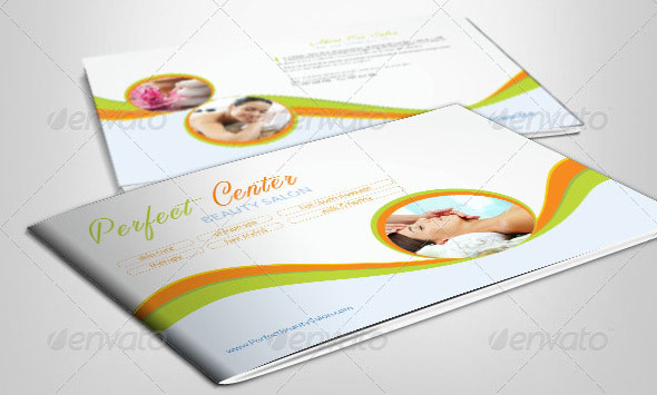 Beauty Spa Wellness Brochure Template