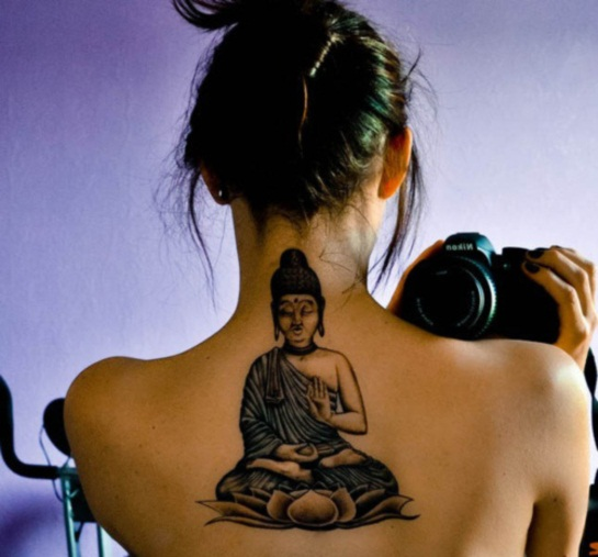 Buddha Tattoo Designs for Girls