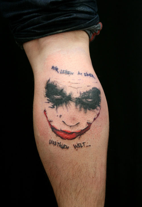 0a4269147 26 Cool Joker Tattoos – Desiznworld