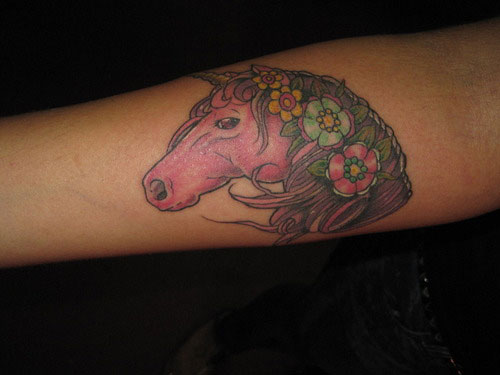 Charming Horse Tattoo