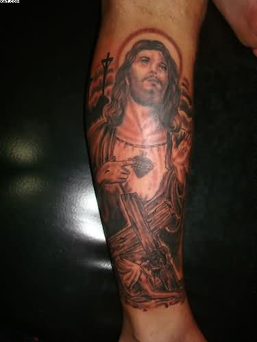 Christ Jesus Tattoo For Your Arm
