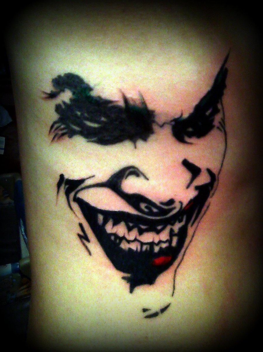 joker tattoo designs pictures - photo #4