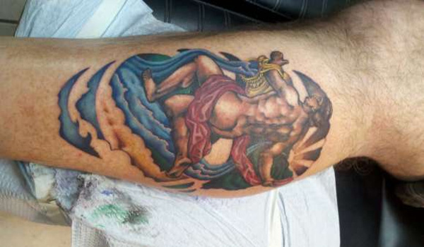 Mythological Aquarius Tatoo