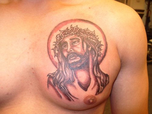 Religious Jesus Christ Tattoo