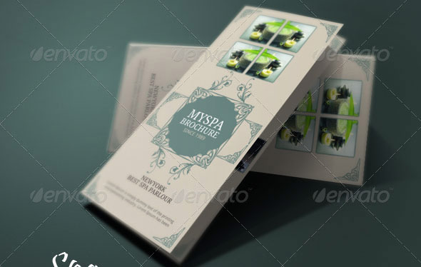 Spa Brochure Template 01