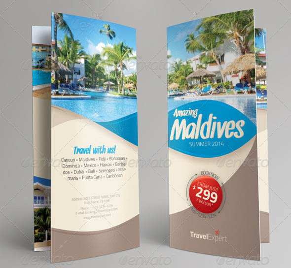 Travel Brochure Trifold
