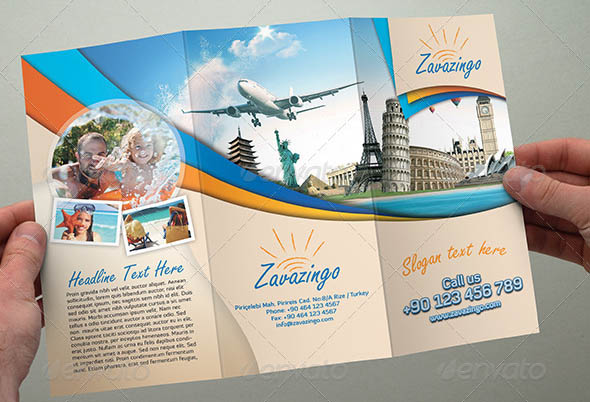 Travel Trifold Brochure 02