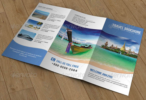 Travel Trifold Brochure-V52