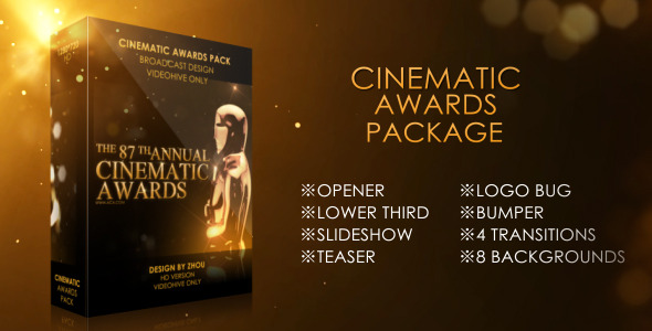 Cinematic Awards Package