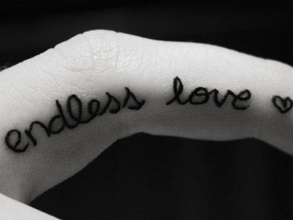 Endless Love Tattoo