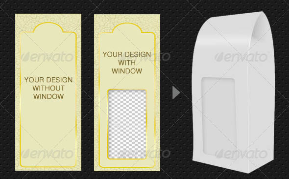 Food Packaging Mock-Up