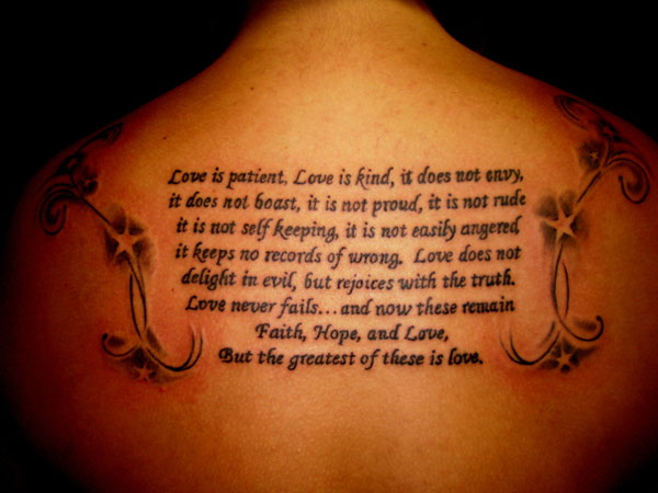 Love Is Great Tattoo