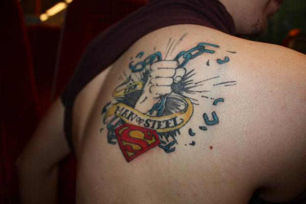 Man Of Steel Tattoo