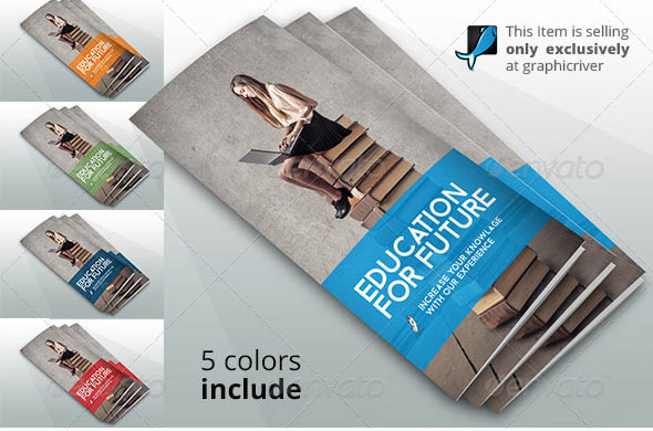 Brochure Psds For School  Education  Desiznworld