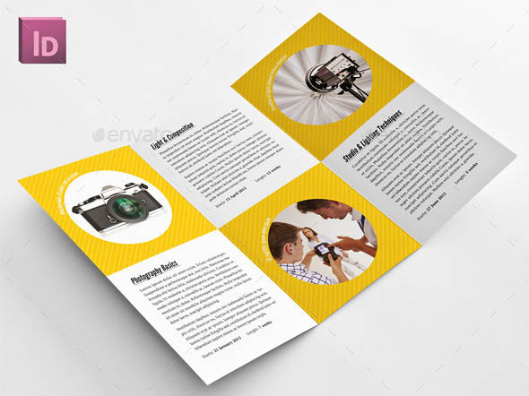 School of Photography Trifold Brochure