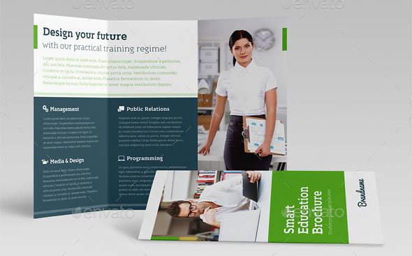 Smart Education Trifold Brochure
