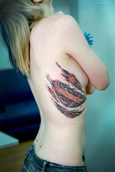 Spiderman Tattoo For Girl