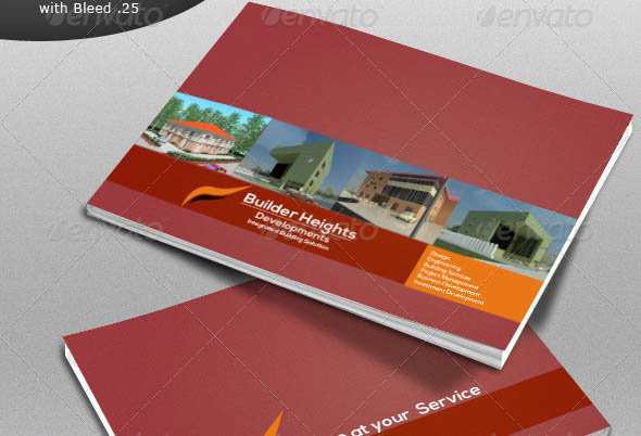 24 cool construction brochure templates desiznworld for Construction brochure design pdf