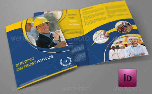 44 Cool Construction Brochure Templates Desiznworld